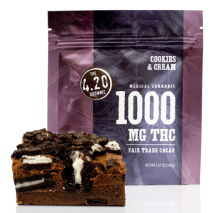 Venice Cookie Company the 420 Brownie