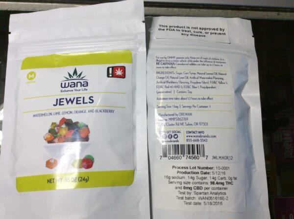 Wana Jewels Gummies