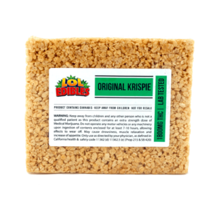 Lol Edibles XL Rice Crispy Treat