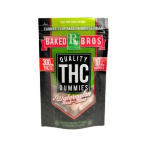 Baked Bros THC Gummies