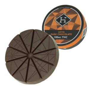 Hashman Infused Sativa Dark Chocolate