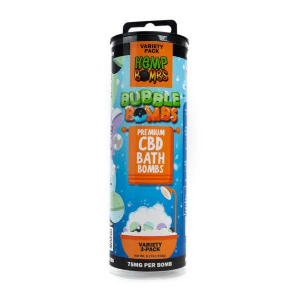 Hembombs CBD Bath Bombs Variety Pack