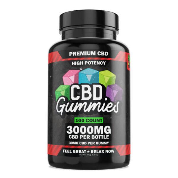 High Potency CBD Gummies 100-Count