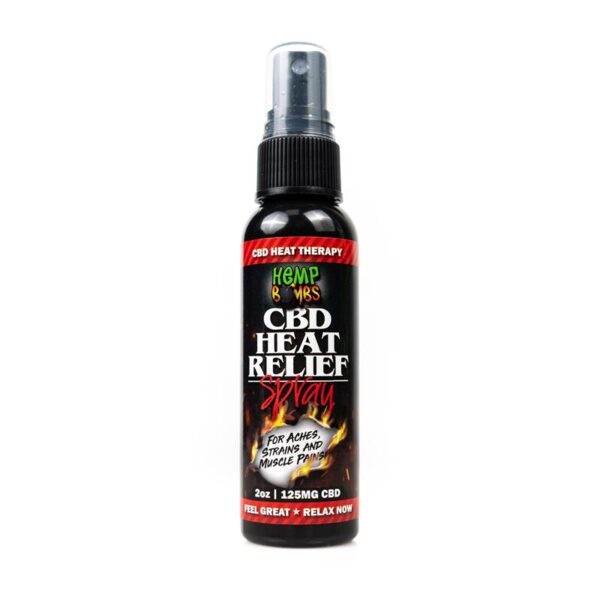 Hempbombs CBD Heat Relief Spray
