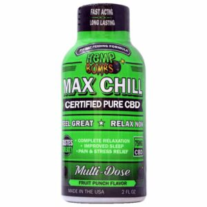 Hempbombs CBD Max Chill Shot
