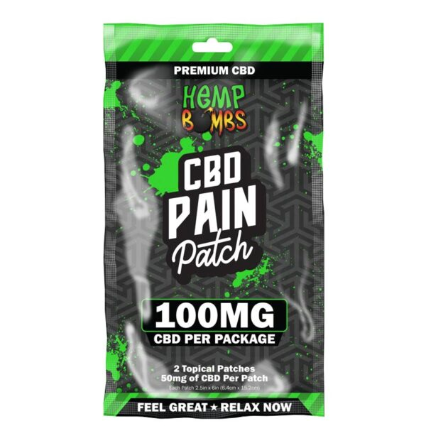 Hempbombs Pain CBD Patches