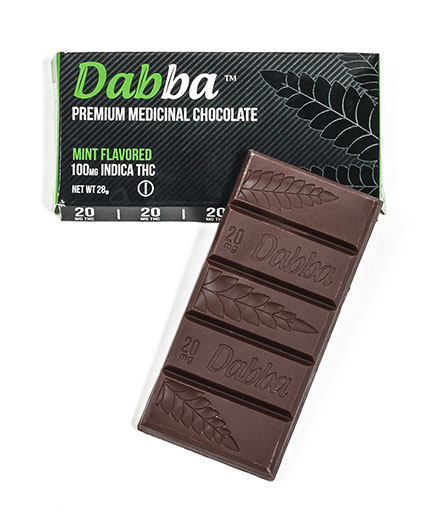 Dabba Chocolate Mint Chocolate Bar