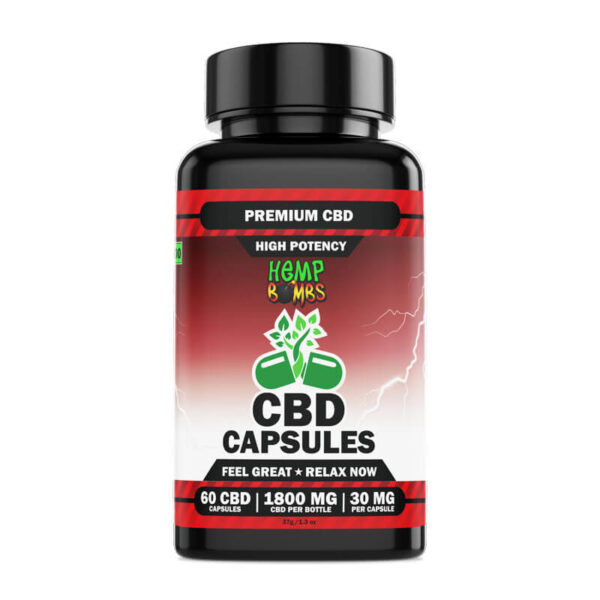 High Potency CBD Capsules 60-Count