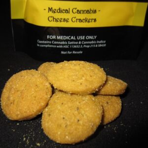 Cannabis Cheese Crackers